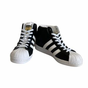 Adidas Superstar High Top Wedge Sneakers size5 1/2